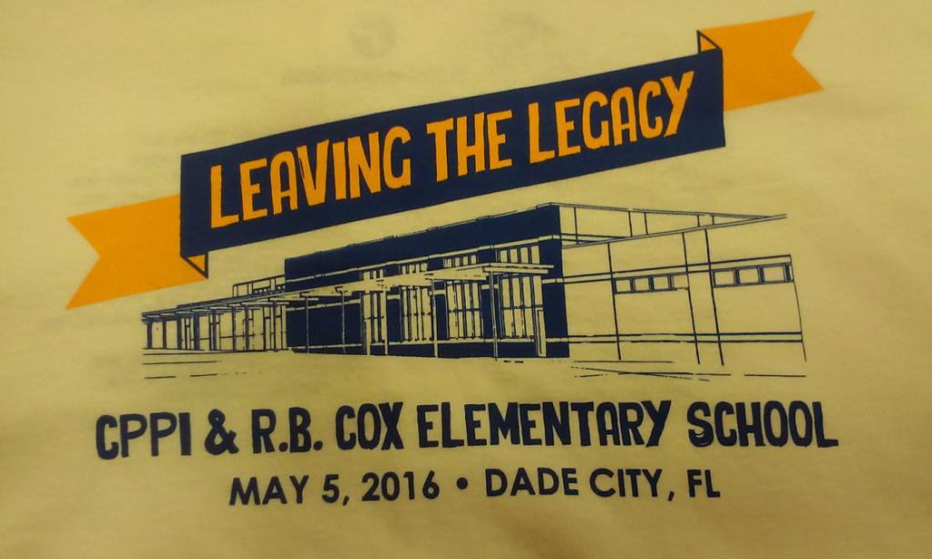 Leaving the Legacy, May 5th!